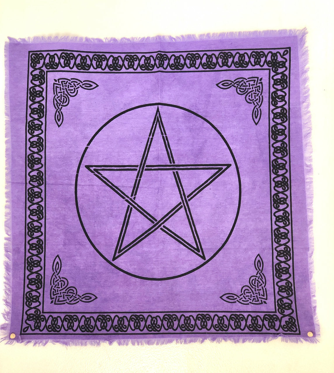 Purple Pentacle Altar Cloth M