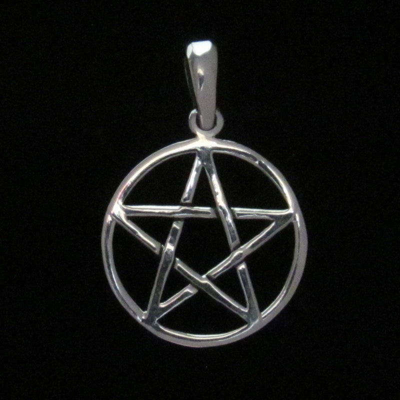 Pentacle Pendant Silver (med)