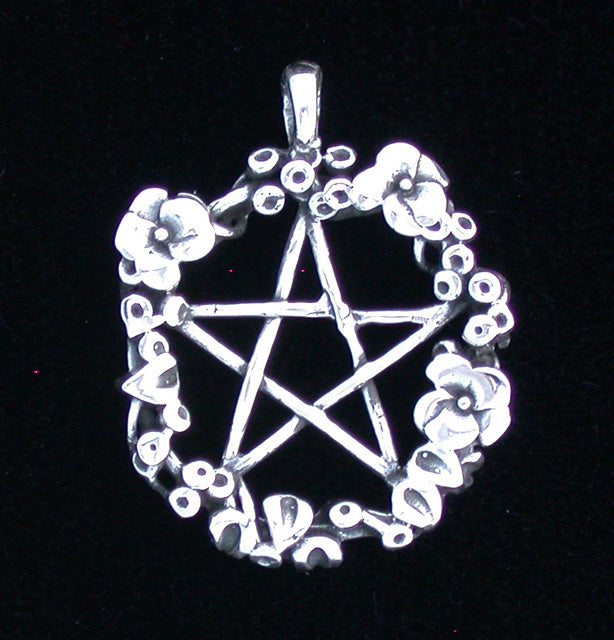 Pentacle of Flowers