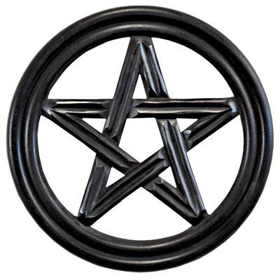 Pentacle Wooden Wall Plaque