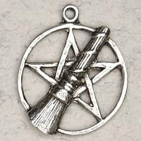 Pentacle with Besom