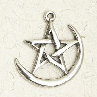 Pentacle on Cresent