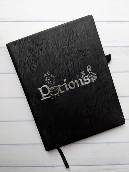 Potions Vegan Leather Journal