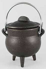 Plain Cauldron 3""