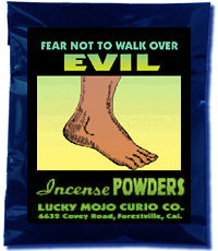 Fear Not Walk over Evil Incense Powder