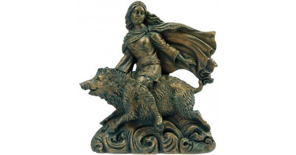 Freya and Boar