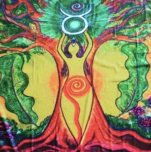 Nature Goddess Altar Cloth