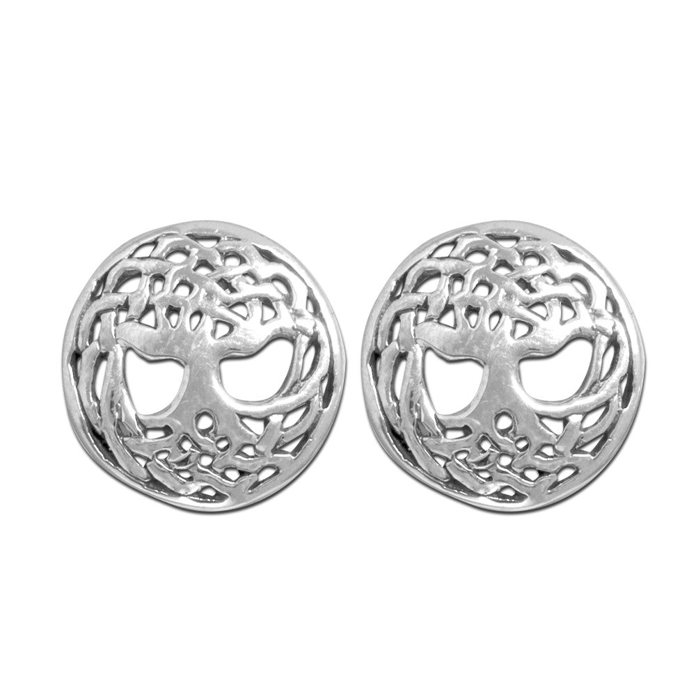 Celtic Tree of Life Studs