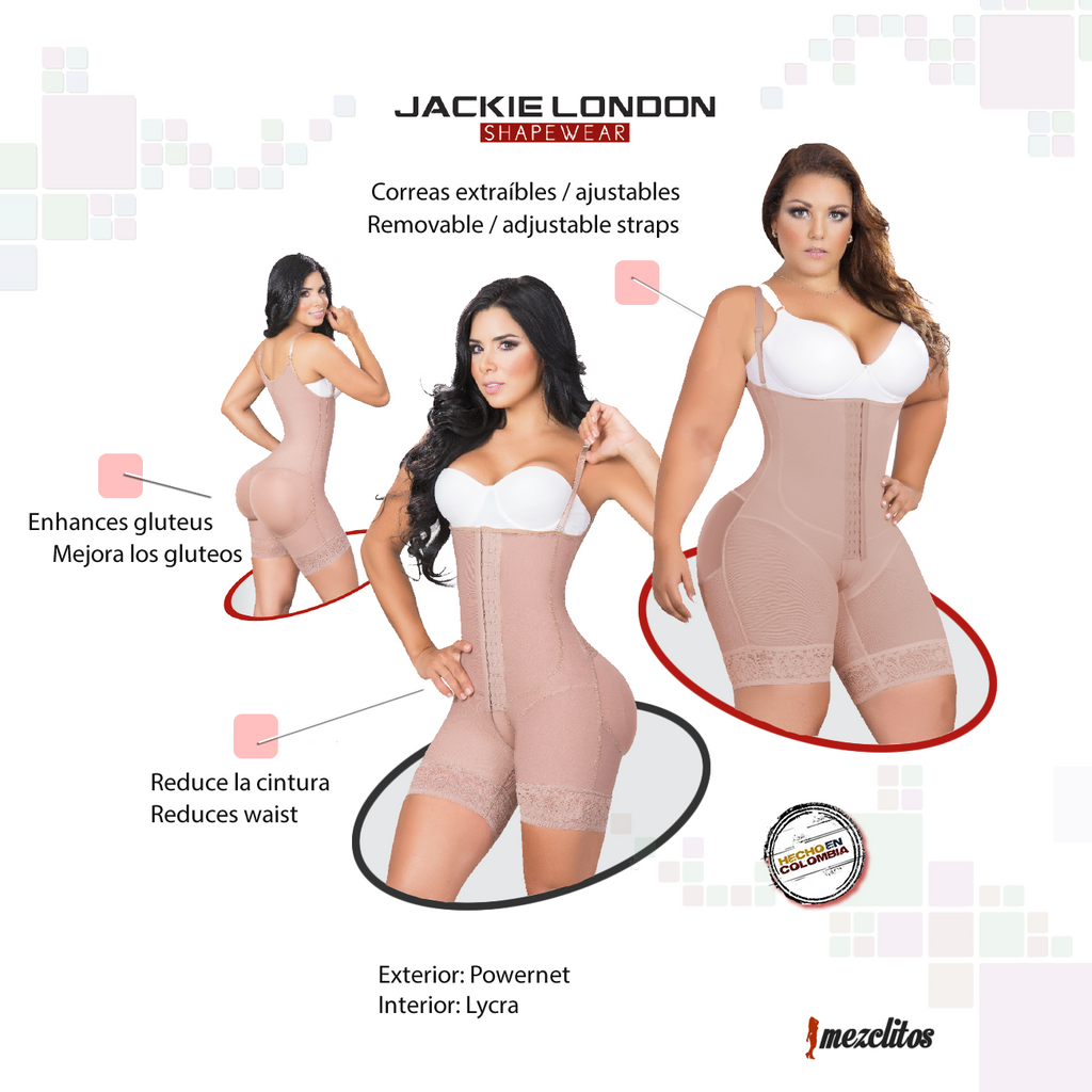 626379043ff Jackie London Shapewear 2010 Shorts   Covered Back- Fajas 100% Colombianas