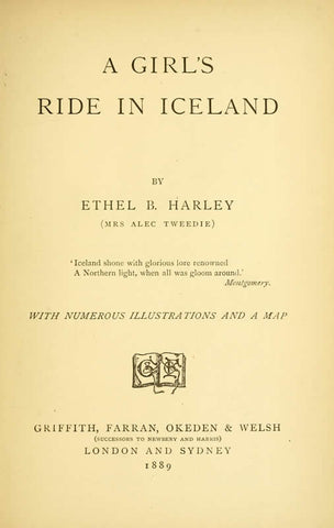A Girl's Ride In Iceland - Repressed Publishing - 1