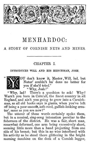 Menhardoc - A Tale Of Cornish Nets And Mines