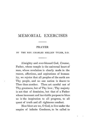 Memorial Exercises In Honor Of Henry Williams Sage