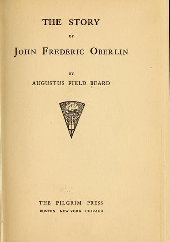 The Story Of John Frederick Oberlin