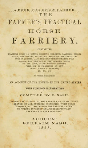 The Farmers' Practical Horse Farriery
