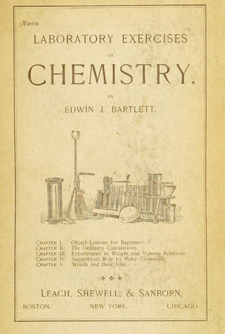 Laboratory Exercises In Chemistry