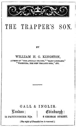 The Trapper's Son