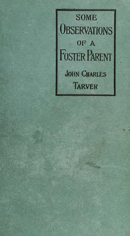 Some Observations Of A Foster Parent