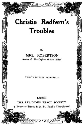 Christie Redfern's Troubles