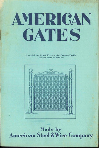 American Steel Fence Gates