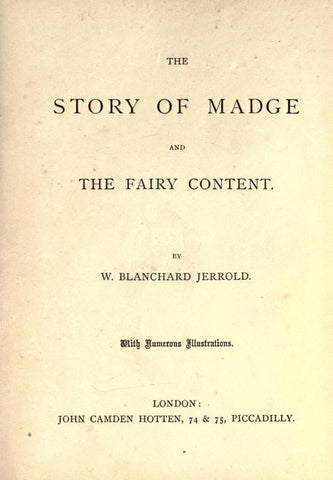 The Story Of Madge And The Fairy Content
