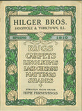 Hilger Bros.: Rugs, Carpets, Linoleums, Lace Curtains, Mattings, Shades