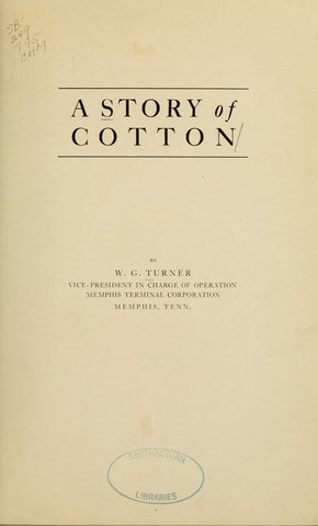 A Story Of Cotton