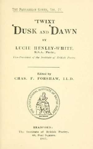 'Twixt Dusk And Dawn - Repressed Publishing - 1