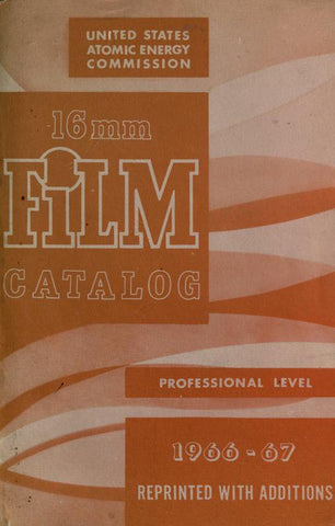 16Mm Film Combined Catalog - Repressed Publishing - 1