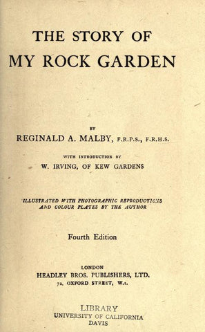 The Story Of My Rock Garden