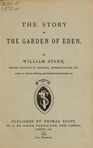 The Story Of The Garden Of Eden