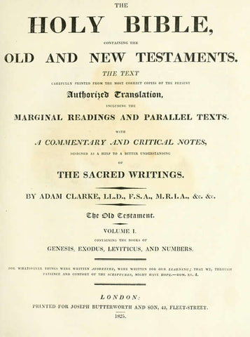 The Holy Bible: Containing The Old And New Testaments: The Text Is Carefully Printed From The Most Correct Copies Of The Present Authorized Translation, Including The Marginal Readings And Parallel Texts