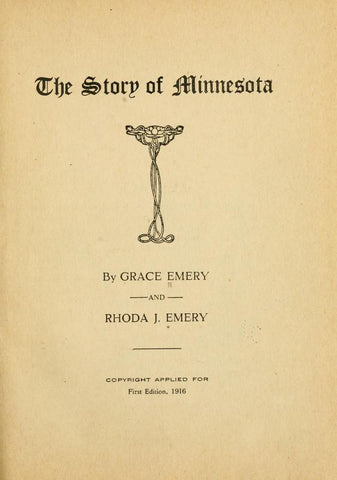 The Story Of Minnesota