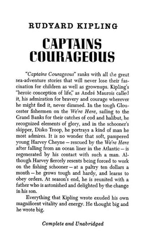 ''Captains Courageous'' - Repressed Publishing - 1