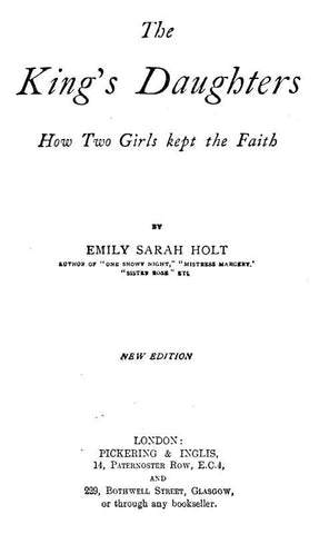The King's Daughters - How Two Girls Kept The Faith