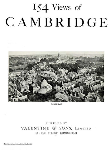154 Views Of Cambridge - Repressed Publishing - 1