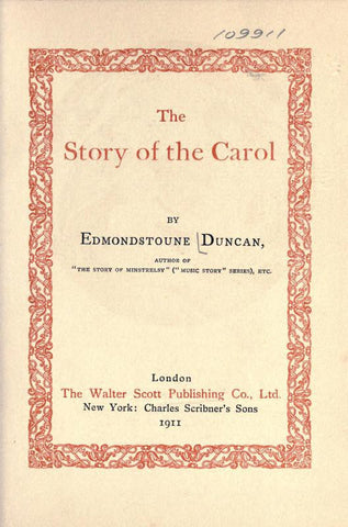 The Story Of The Carol
