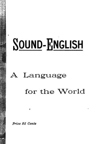 Sound-English: A Language For The World