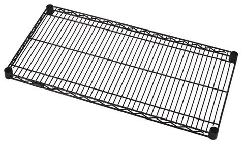 Black Wire Shelf Available in Multiple Sizes - Shelving Smart