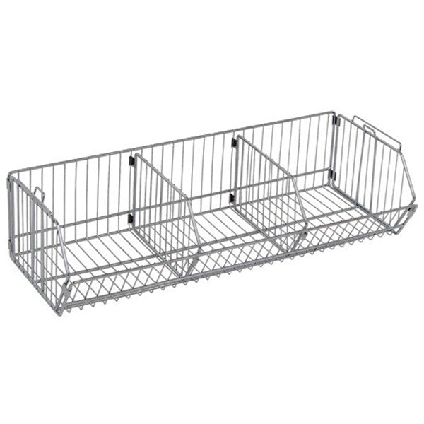 Modular Stacking Wire Basket - Shelving Smart
