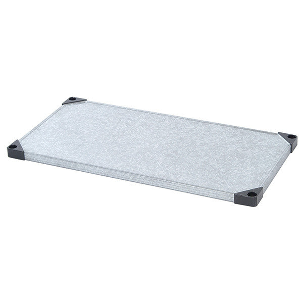 Solid Galvanized Steel Shelf Multiple Sizes Available - Shelving Smart