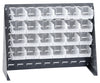 "Bench Rack System  27"" x 21"" with 24 QUS210 Bins - Shelving Smart - 1"