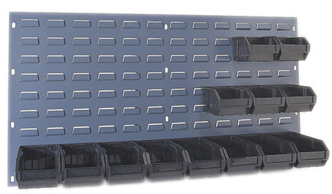 "Louvered Panel 36"" x 19"" QLP 3619 Available in Gray and Beige - Shelving Smart - 1"