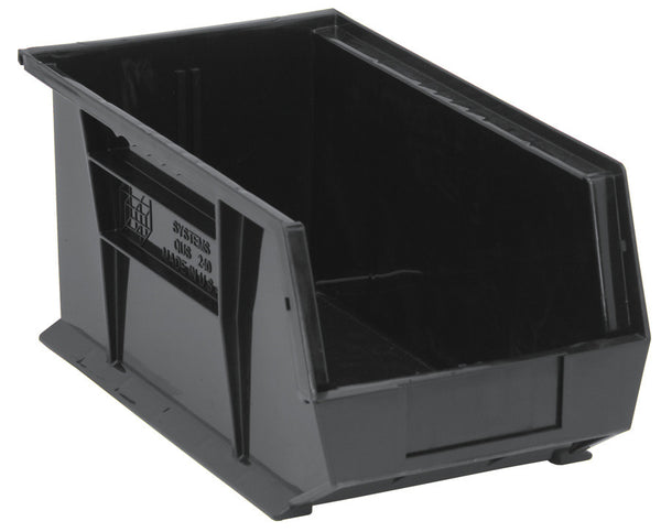"Ultra Stack & Hang Bin, 14-3/4"" x 8-1/4"" x 7""H Pack of 12 QUS240 - Shelving Smart - 1"