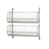 "34"" H Post Wall Mount Cantilever with Wire Baskets Multiple Sizes Available - Shelving Smart - 2"