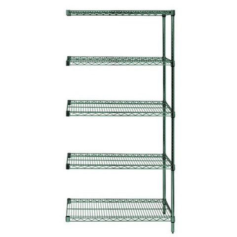 "63""H Proform 5 Shelf Wire Shelving Add-on Kit - Shelving Smart"