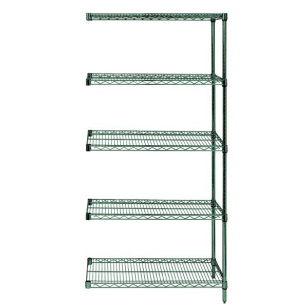 "74""H Proform 5 Shelf Wire Shelving Add-on Kit - Shelving Smart"