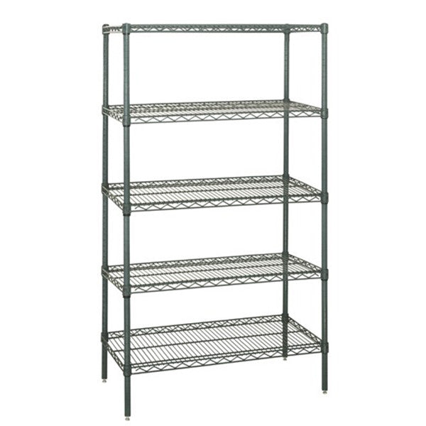"74""H Proform 5 Shelf Wire Shelving Starter Kit - Shelving Smart"