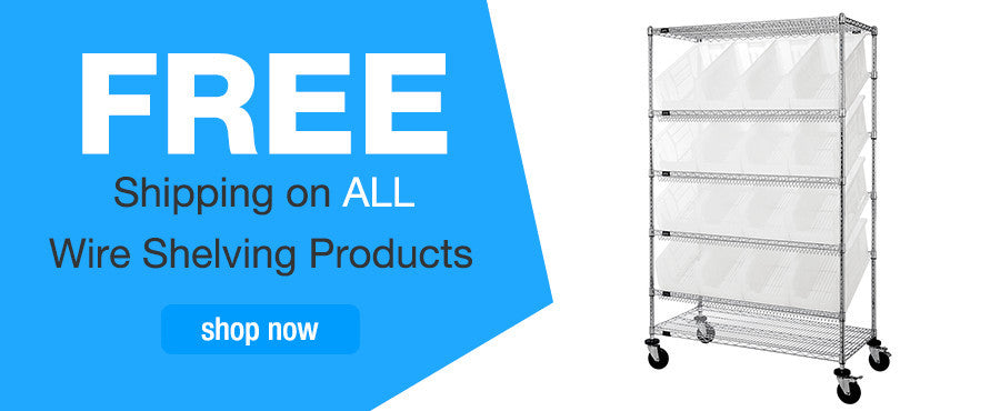 Wire Shelving Promotion