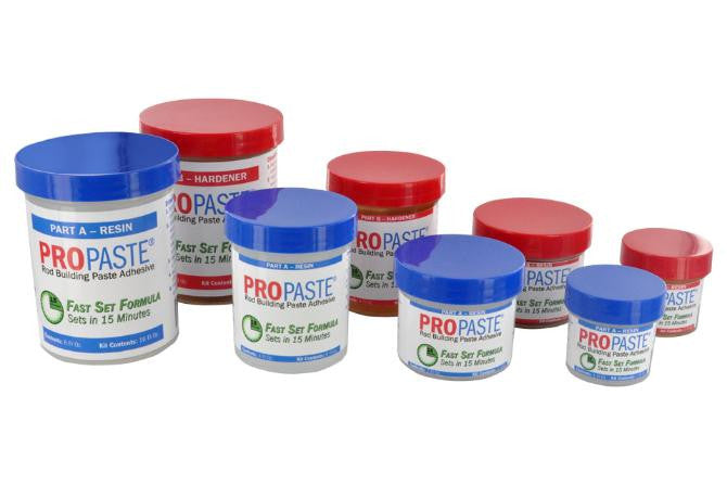 ProPaste Fast-Set Paste Epoxy - customrodsupplies