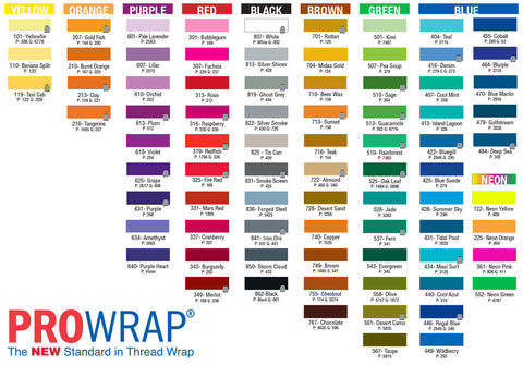 Prowrap ColourFast D  300yds - customrodsupplies